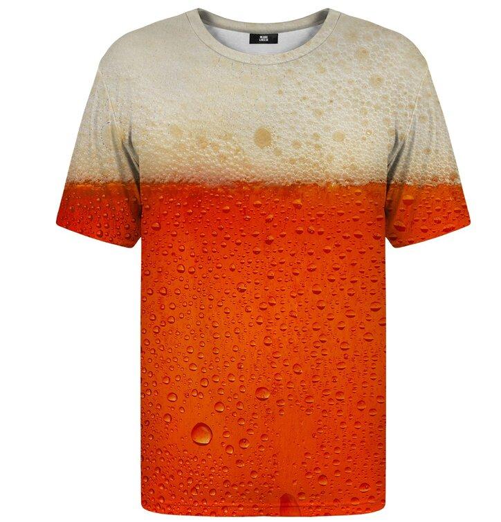 T-Shirt mit kurzen Ärmeln Rotbier