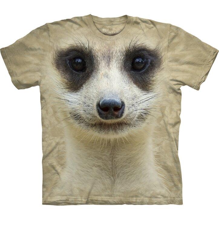T-Shirt Surikata Gesicht