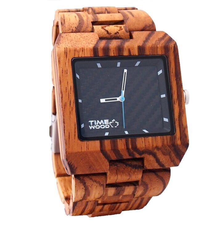 Drevené hodinky Valdi