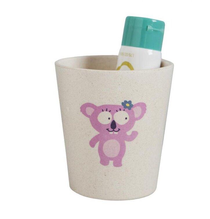Ekologický pohárik na zubné kefky - Koala