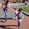 Foto Damen Sport Leggings Elastisch Mosaik